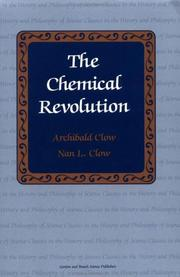 The chemical revolution by Archibald Clow