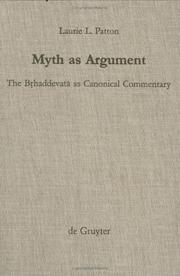 Myth as argument PDF