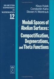 Moduli spaces of Abelian surfaces PDF
