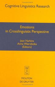 Emotions in Crosslinguistic Perspective (Cognitive Linguistic Research)