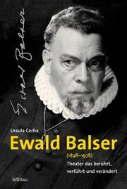 Ewald Balser (1898-1978)