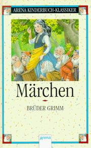Cover of: Märchen by Brothers Grimm