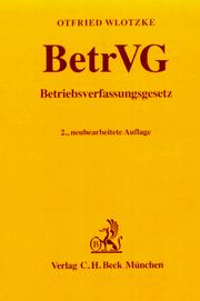 Betriebsverfassungsgesetz by Germany