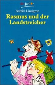 Cover of: Rasmus und der Landstreicher. ( Ab 10 J.) by Astrid Lindgren