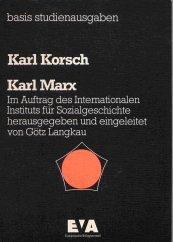 Karl Marx by Karl Korsch