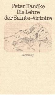 Die Lehre der Sainte-Victoire PDF