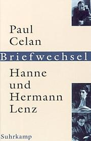 Paul Celan, Hanne und Hermann Lenz by Paul Celan