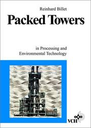 Packed towers by Reinhard Billet