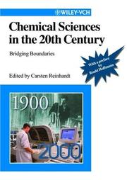 Chemical Sciences in the 20th Century