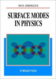 Surface modes in physics by B. Sernelius