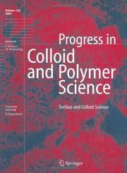 Surface and Colloid Science PDF