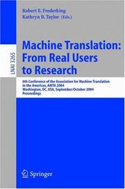 Machine translation PDF