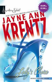 Cover of: Lady's Choice by Jayne Ann Krentz