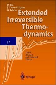Extended irreversible thermodynamics by D. Jou