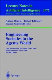 Engineering Societies in the Agents World
