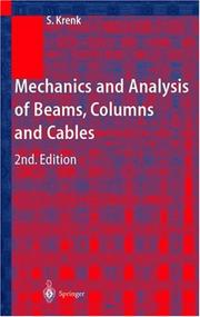 Mechanics and Analysis of Beams, Columns and Cables PDF