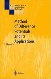 Method of difference potentials and its applications PDF