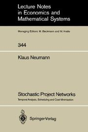 Stochastic Project Networks PDF