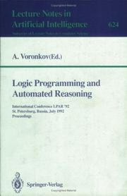 Logic programming and automated reasoning PDF