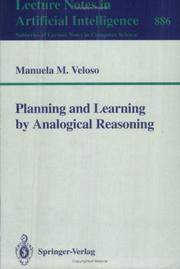 Planning and learning by analogical reasoning PDF