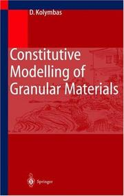 Constitutive Modelling of Granular Materials (Engineering Online Library) PDF