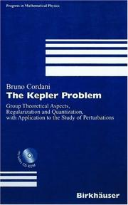 The Kepler problem by Bruno Cordani