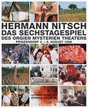 Hermann Nitsch by Hermann Nitsch