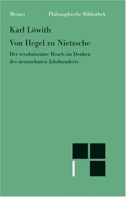 Von Hegel zu Nietzsche by Karl Lwith