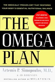 The Omega plan by Artemis P. Simopoulos