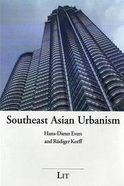 Southeast Asian Urbanism by Evers