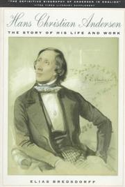 Hans Christian Andersen by Elias Bredsdorff