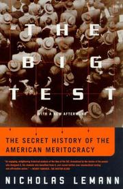 The Big Test by Nicholas Lemann
