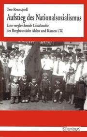 Aufstieg des Nationalsozialismus