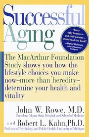 Successful aging by Rowe, John W.