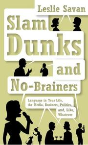 Slam dunks and no-brainers by Leslie Savan