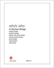 Cover of: Who's Who in German Design by Peter Zec