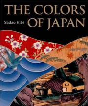 The colors of Japan by Sadao Hibi