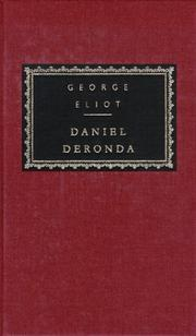Cover of: Daniel Deronda by George Eliot