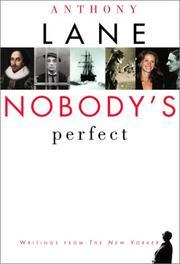 Nobody's Perfect PDF
