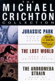Cover of: Michael Crichton Value Collection (The Michael Crichton Collection) by Michael Crichton
