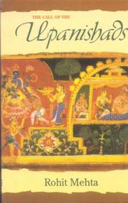 The call of the Upanishads by Rohit Mehta
