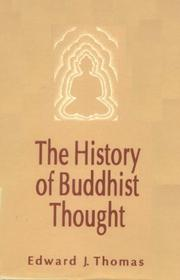 The history of Buddhist thought PDF