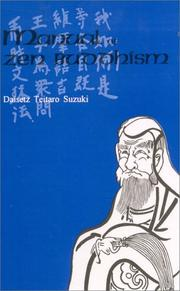 Manual of Zen Buddhism by Daisetsu Teitaro Suzuki