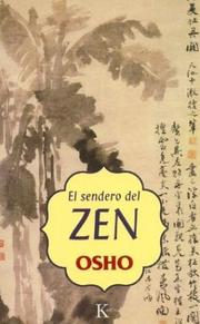 Cover of: El sendero del zen by Osho