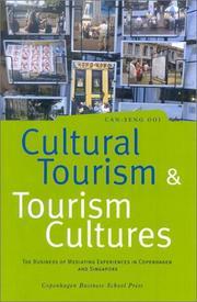 Cultural tourism and tourism cultures PDF