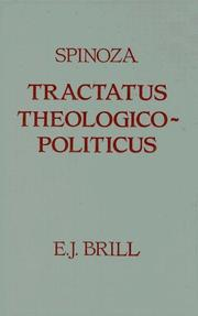Cover of: Tractatus theologico-politicus by Baruch Spinoza