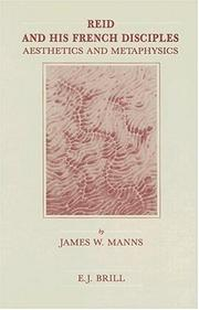 Reid and his French disciples by James W. Manns