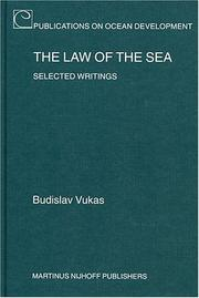 The law of the sea by Budislav Vukas