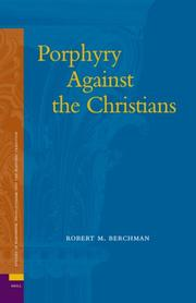Porphyry against the Christians PDF