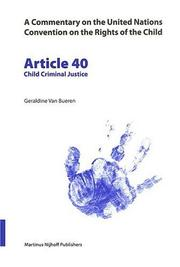 Article 40 by Geraldine Van Bueren